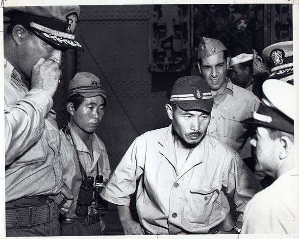 Negotiations were tense aboard the super subs after surrender to the U.S. Navy.