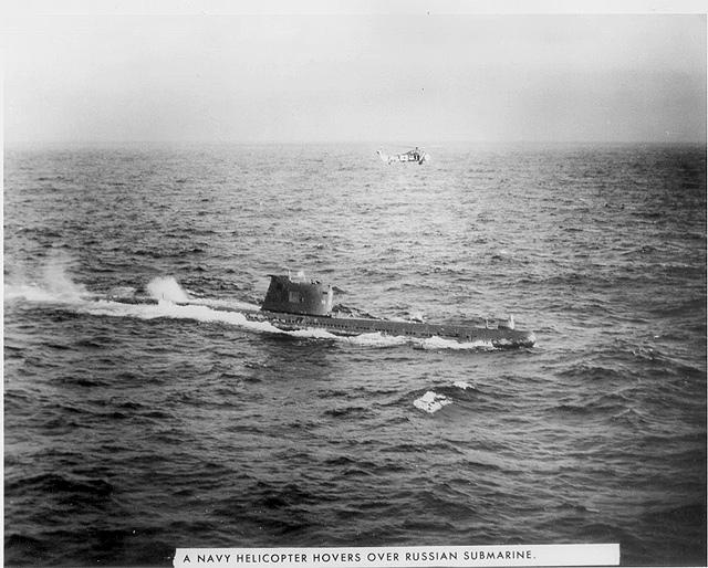 Photograph of Soviet submarine B-59