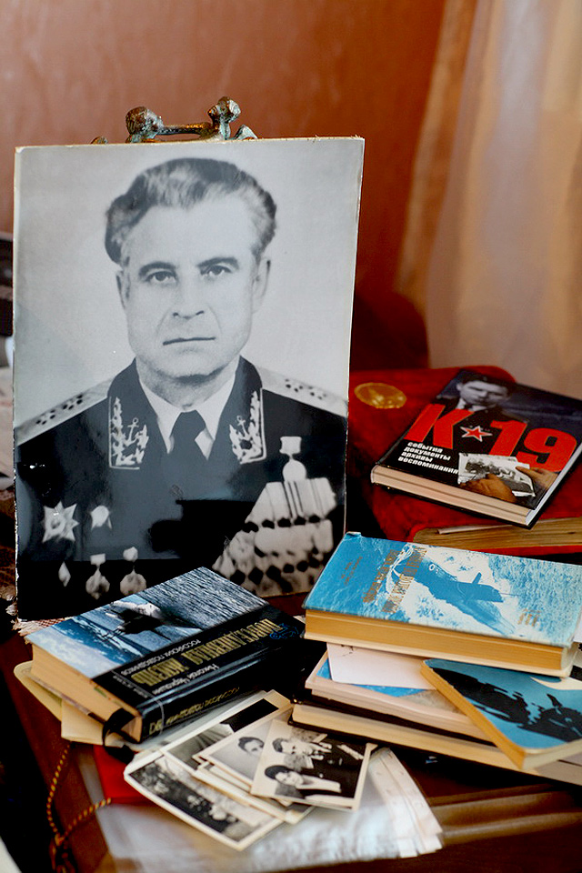 Collection of photos of Vasili Arkhipov, 'The Man Who Saved the World' from the personal archive of his widow Olga Arkhipova, taken by production.  Vasili Alexandrovich Arkhipov was a Soviet naval officer, who, during the Cuban Missile Crisis prevented the launch of a nuclear torpedo and therefore a possible nuclear war.