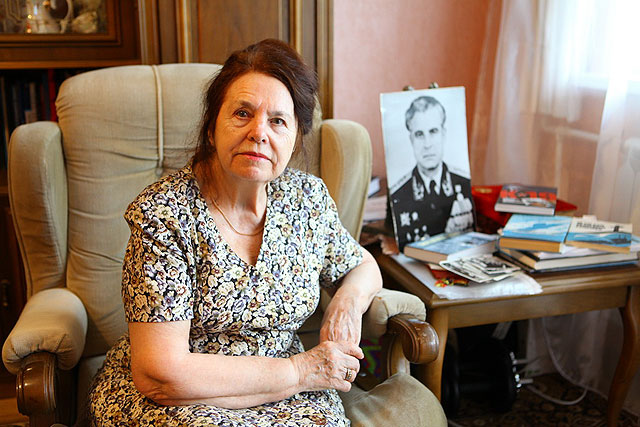 Olga ARKHIPOVA, widow of Vasili Arkhipov, a Soviet naval office, who during the Cuban Missile Crisis prevented the launch of a nuclear torpedo and therefore a possible nuclear war.