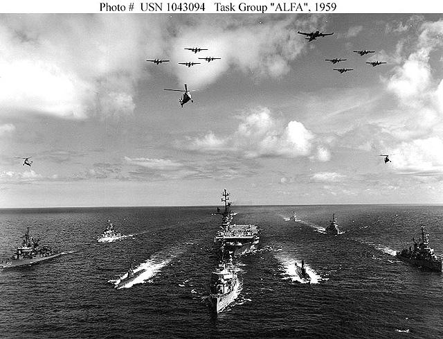 Photograph of Task Group Alpha