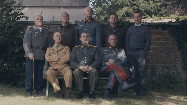 Re-enactment. Our Generals Cast.