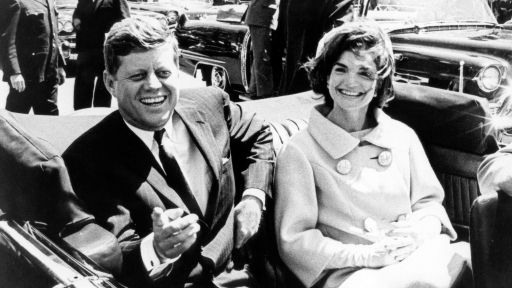 President John F. Kennedy and Jacqueline Kennedy