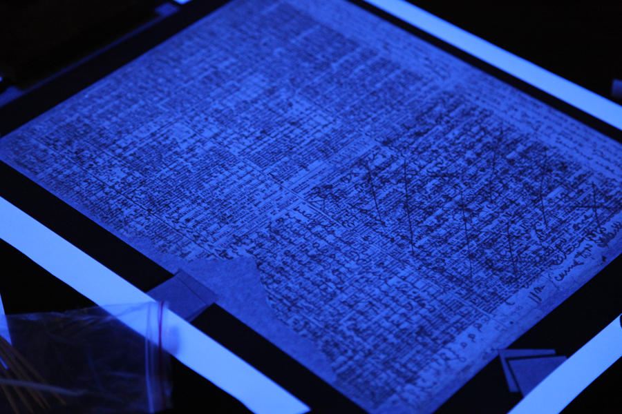 Spectral Imaging on Livingstone's Diary Pages