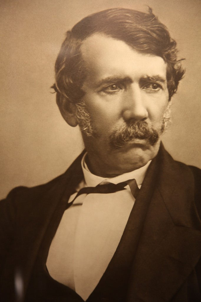 Portrait of Livingstone from David Livingstone centre Scotland