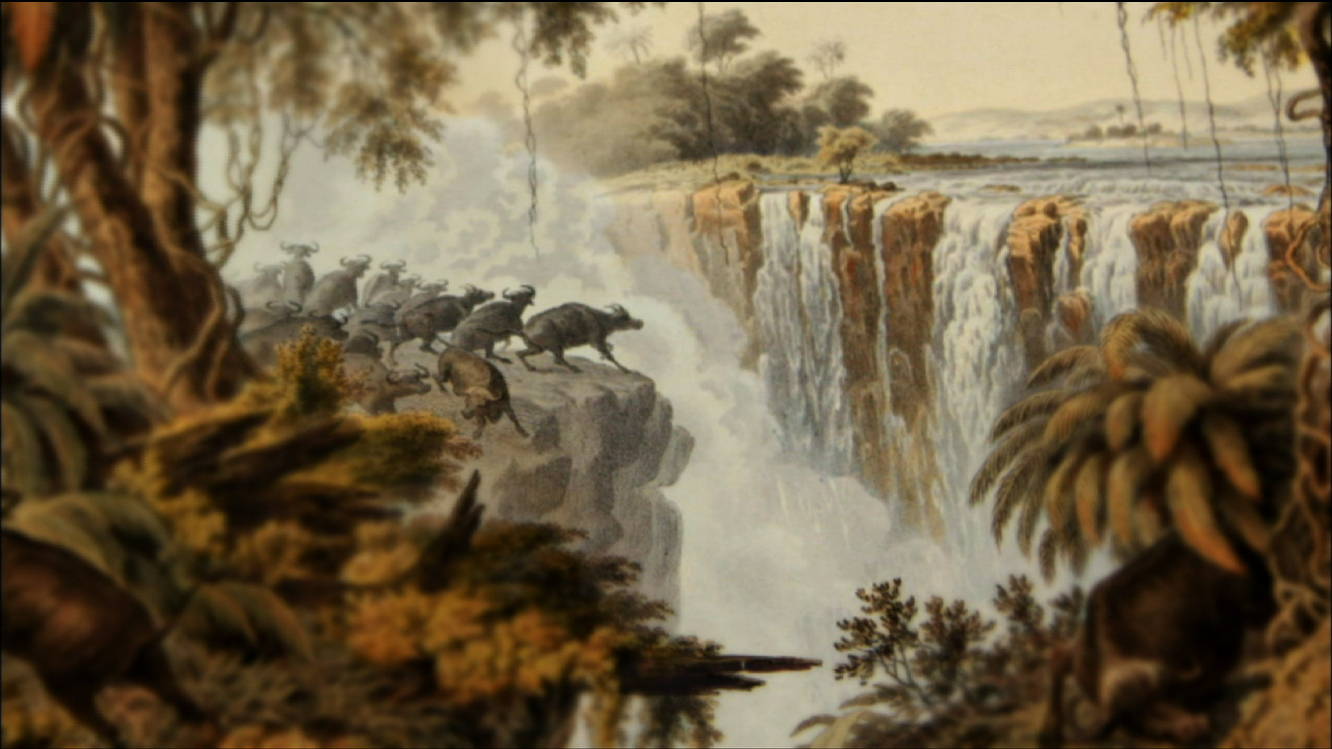 Dr. Livingstone Discovers U0026 Names Victoria Falls  Dr Livingstone I Presume Movie