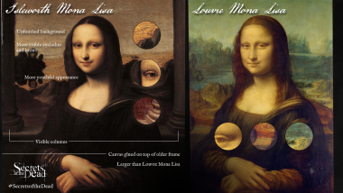 Comparing the Two Mona Lisas