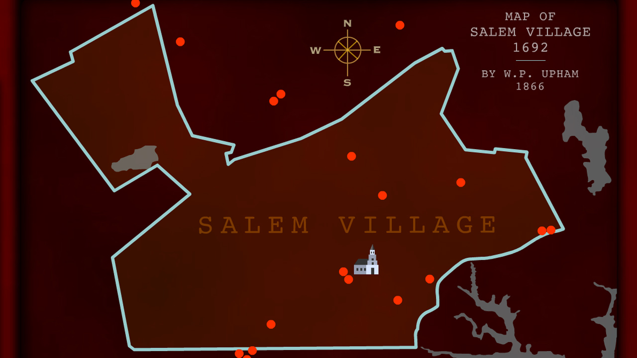The Witches Curse  Interactive Explore Salem  Secrets