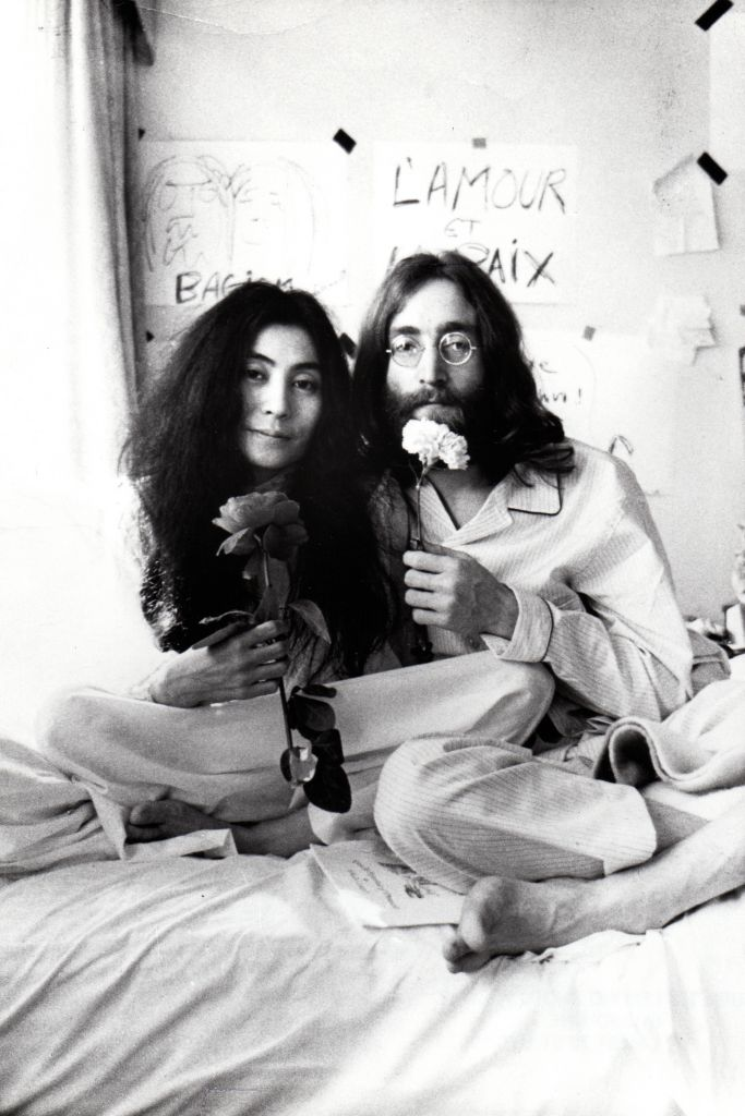 Yoko Ono and John Lennon, from THE U.S. vs. JOHN LENNON