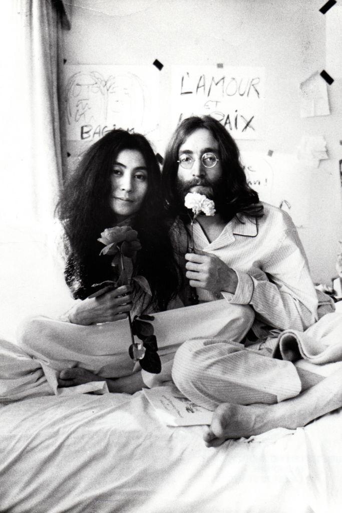 Yoko Ono and John Lennon, from THE U.S. vs. JOHN LENNON