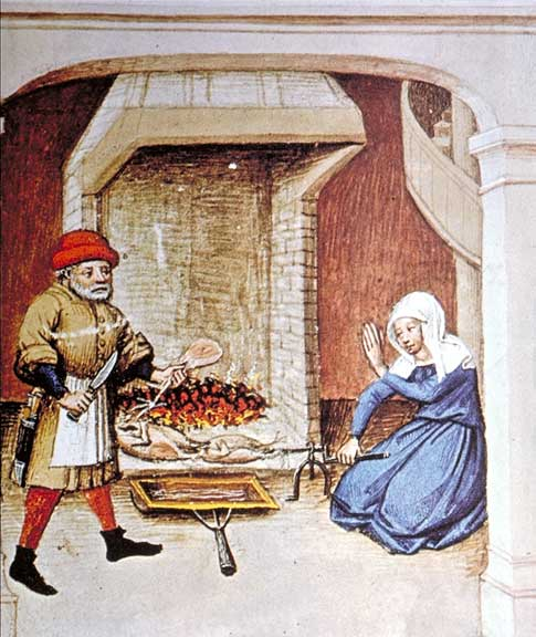 Illustration from an edition of The Decameron, Flanders, 1432