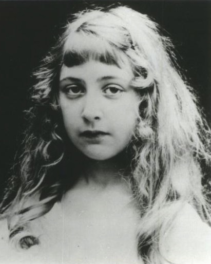 Agatha Christie as a girl, date unknown