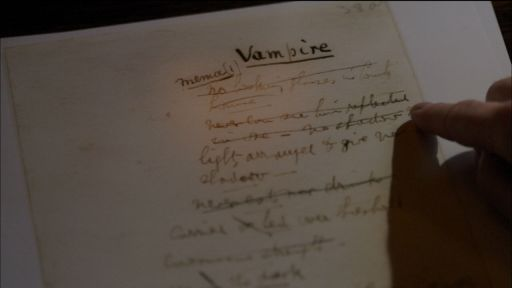 Clip |  Bram Stoker's Notes and Research for Dracula