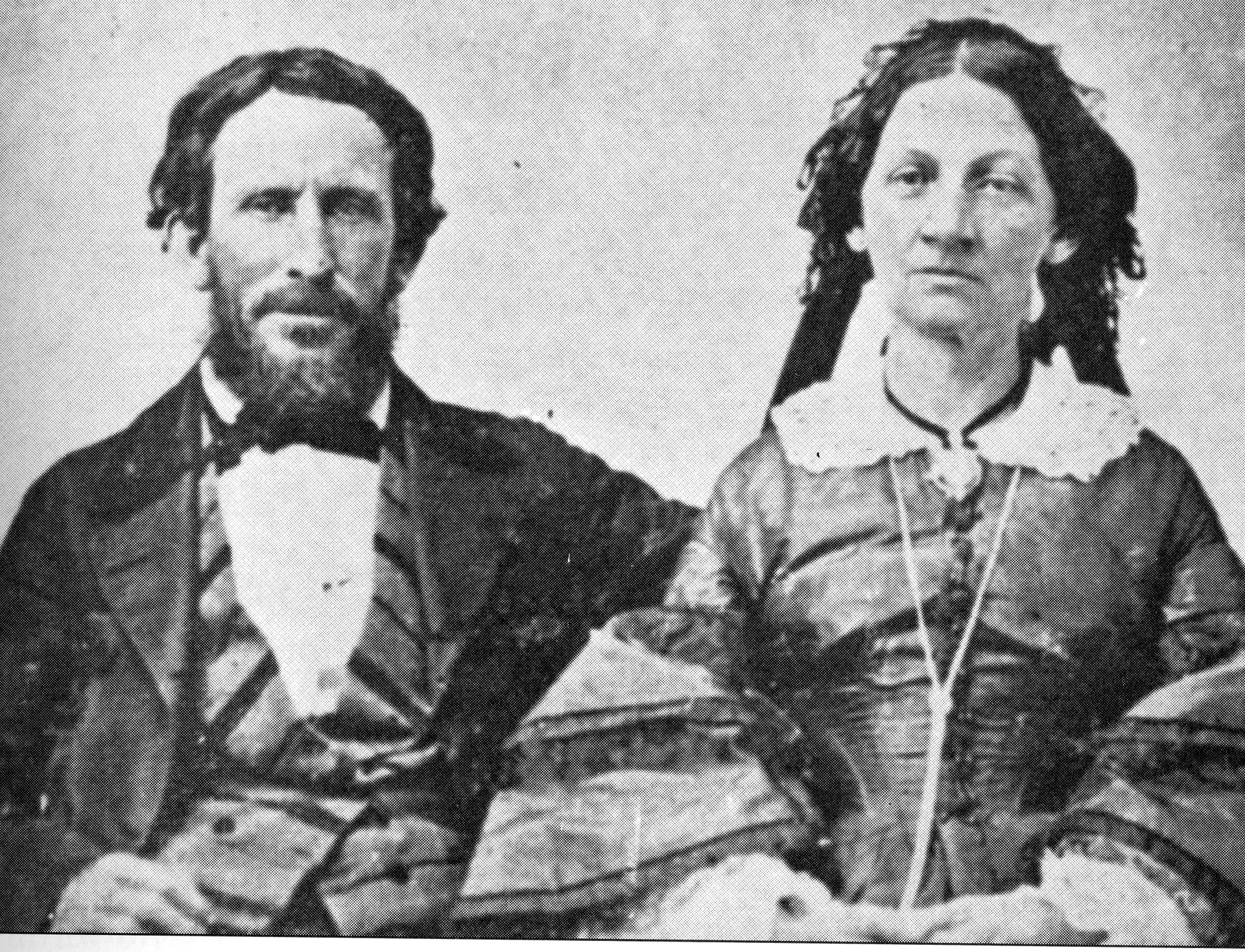 James F. and Margaret (Keyes) Reed, members of the Donner Party.