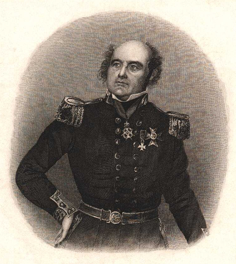 Sir John Franklin (1786–1847), English sea captain and Arctic explorer. Source: Dibner Library Portrait Collection
