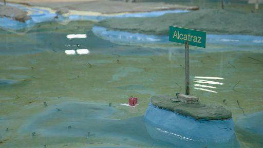 The Alcatraz Escape -- The SF Bay Model shows the escapees could have survived