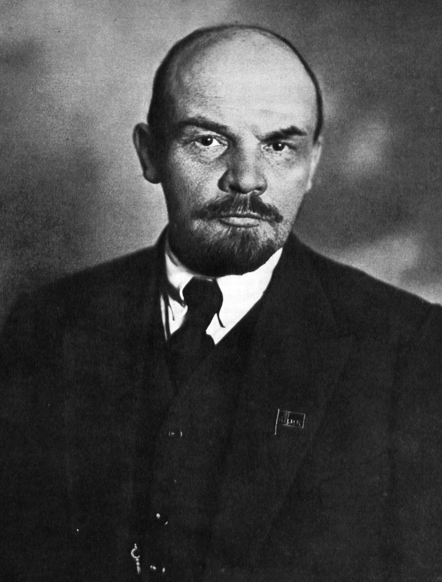 V. I. Lenin, 1920, by L. Léonidov