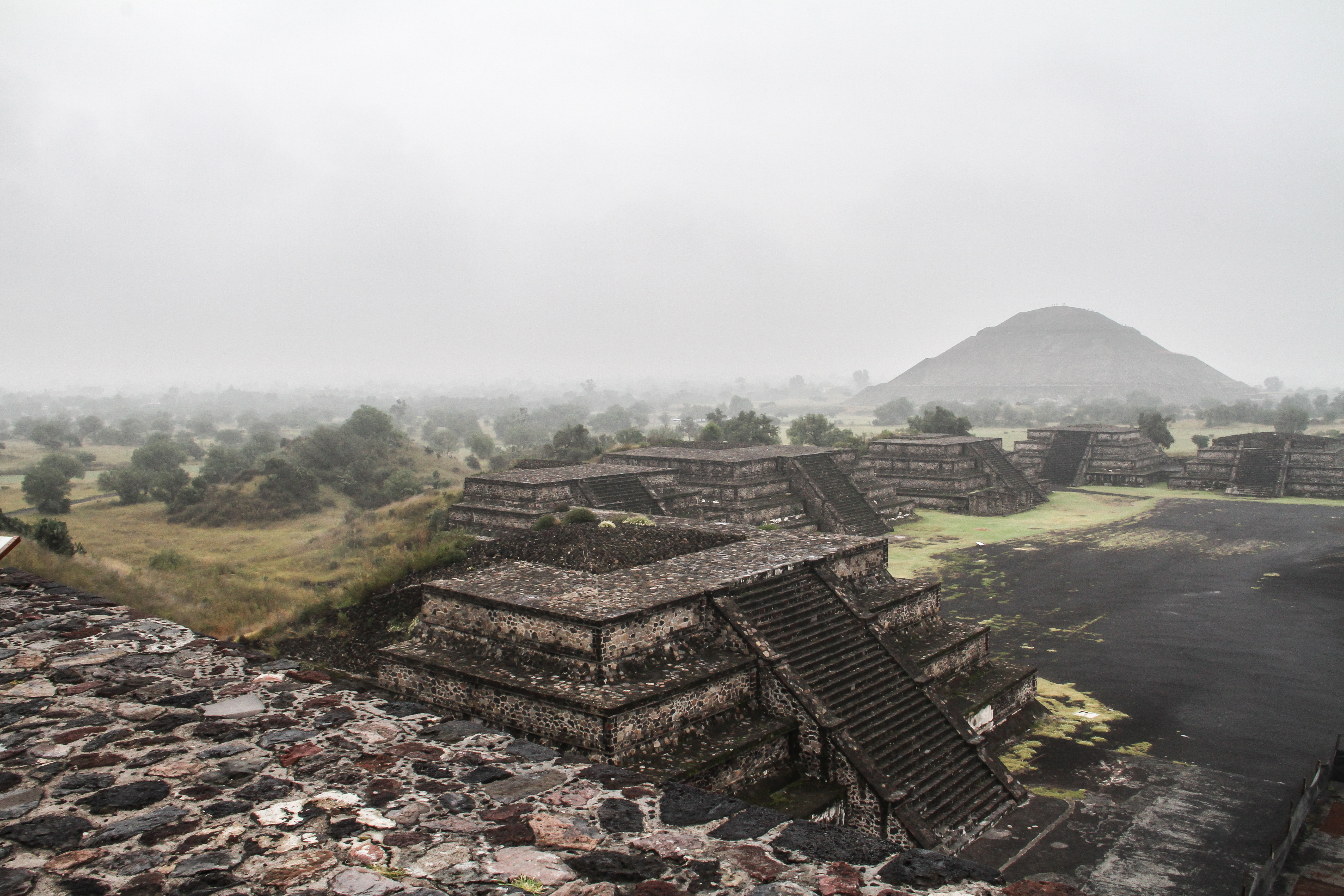 Teotihuacán is one of the biggest ghost towns in the world. The quest for its builders is one of the most fascinating challenges of today's archeology. Credit: Anika Dobringer/ Story House Productions