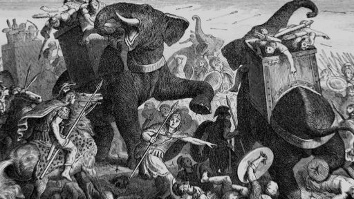 Hannibal in the Alps -- How Hannibal's Elephants Crossed the Alps