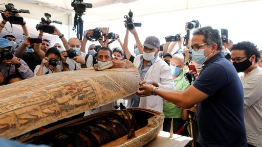 Ancient Mummies Unveiled, Lost Submarine Found and more Unearthed Secrets for October
