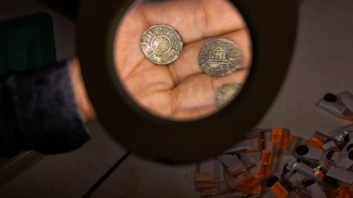 Medieval French Coins, Ancient Mummy Wrappings and More Unearthed Secrets for July