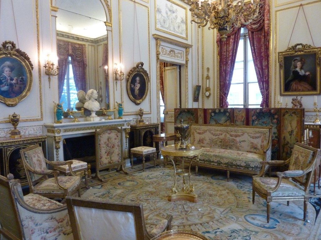Interior of Musee Nissim de Camondo, Paris, France