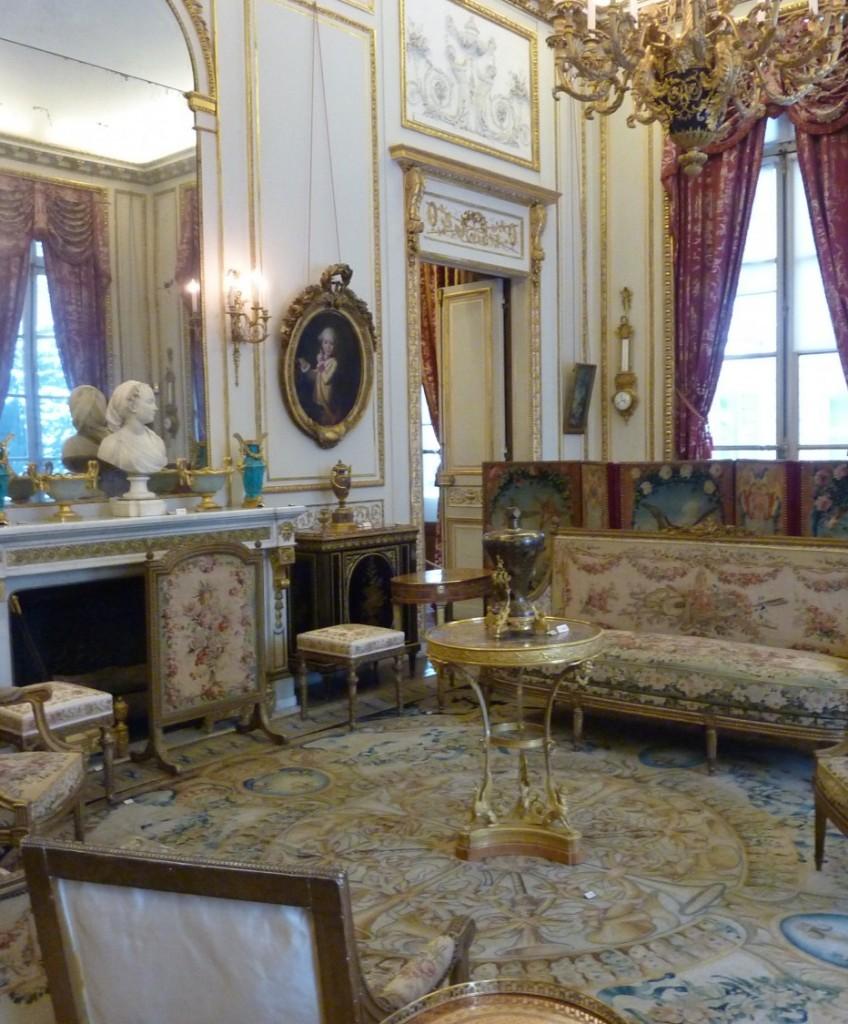 Interior of Musee Nissim de Camondo, Paris, France