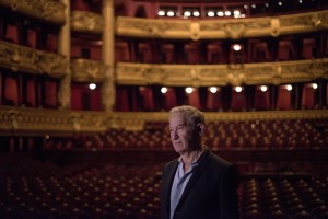 Simon Schama at the Opera House, Paris, France