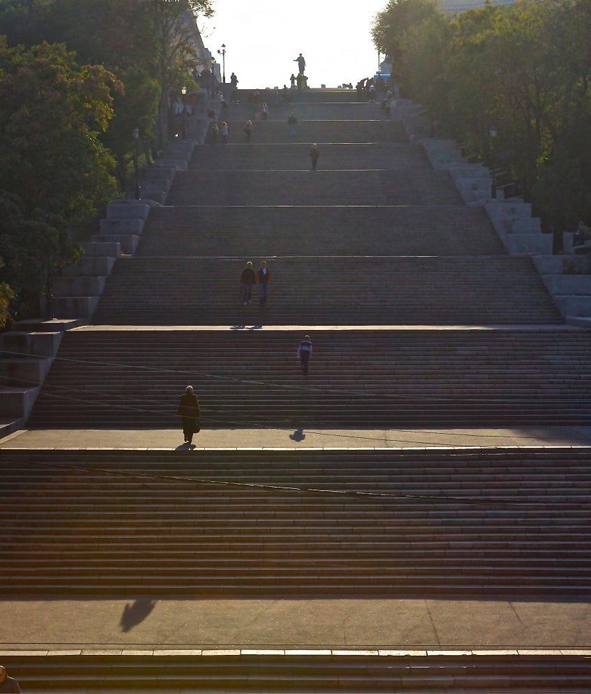 Odessa steps, Odessa, Ukraine