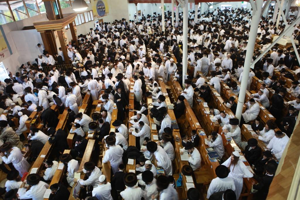 Hasidic Jews, Uman, Ukraine