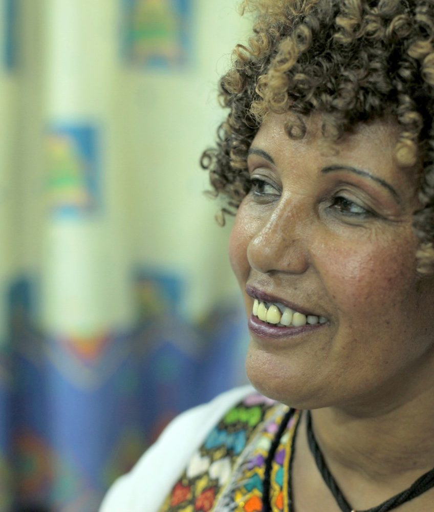 Aviva, a Beta Israel interviewee from Ethiopia