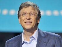 Bill Gates speaking at TED Talks Education