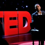 John Legend sings and plays the piano at TED Talks Education