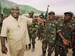El líder rebelde Laurent Kabila
