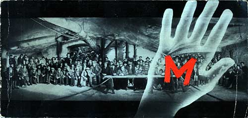 Promotional poster for M