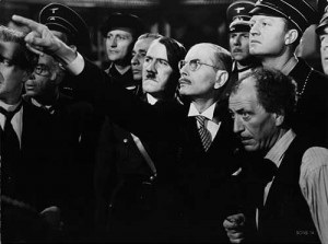 Production still from To Be Or Not To Be (1942).
