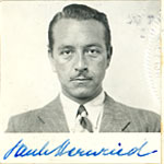Paul Henreid citizenship application