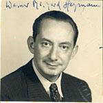 Werner Richard Heymann citizenship application