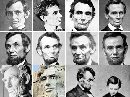 the misrepresentation of abraham lincoln Using the evergreen gatehouse, a flagpole, stand-in models for the president and other notables, and four photos of the ceremony, the researchers have mapped out the the gardner profile would offer the most accurate representation of lincoln's hair and beard as they were on dedication day, so oakley downloaded a.