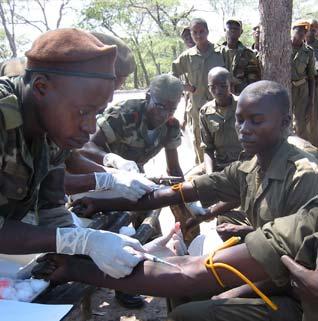 Testing Troops I