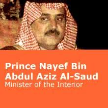 Who's Who: The House of Saud ~ Prince Nayef Bin Abdul Aziz Al-Saud