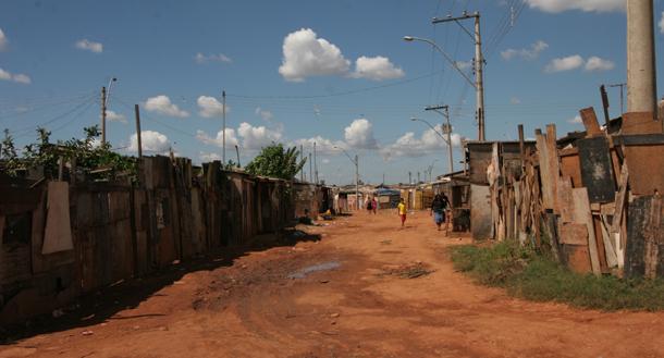 Brasilia shanty town