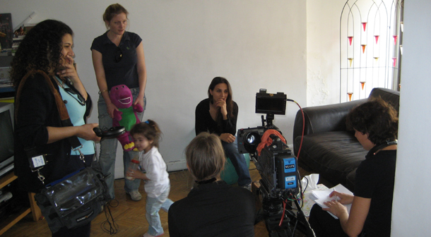 interview with presenter Farah