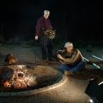 Campfire Close-up