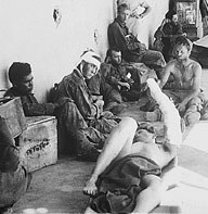 Wounded prisoners of war